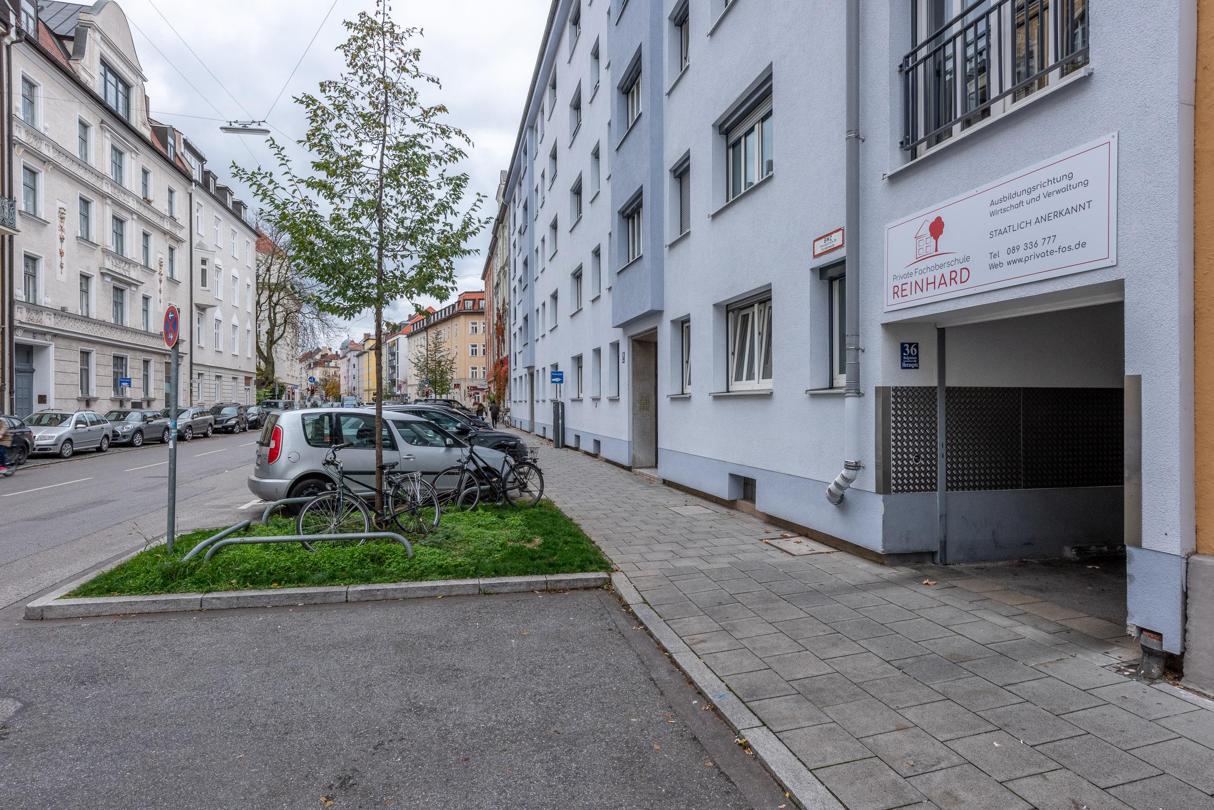 Eingang Herzogstraße 36 Schwabing