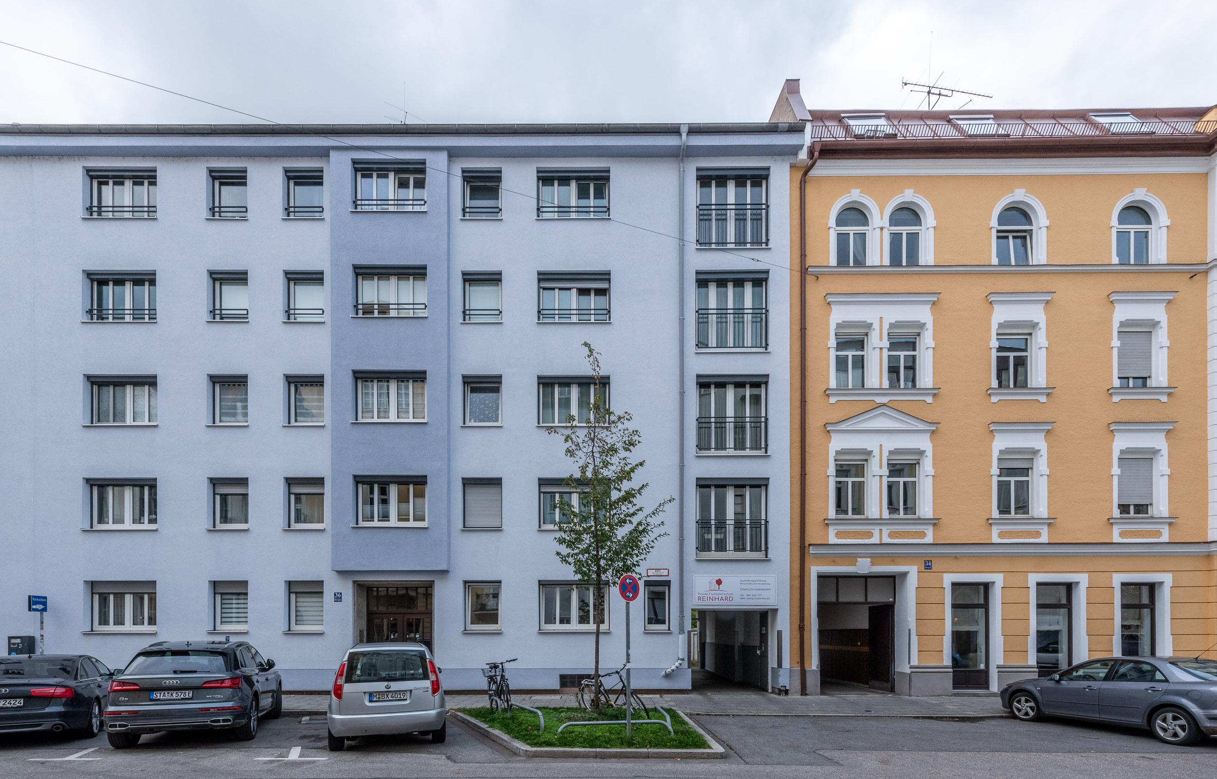 Eingang Herzogstraße 36